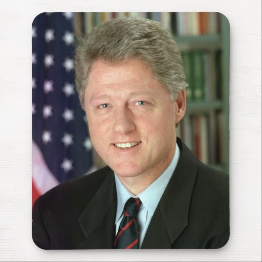 Bill Clinton Mouse Pad