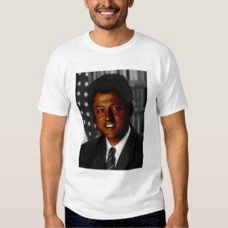 Bill Clinton negro Poleras