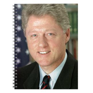 Bill Clinton Notebook
