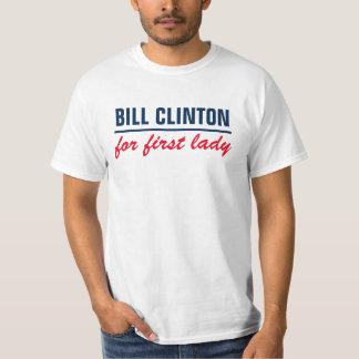 Bill Clinton para la primera señora Remera