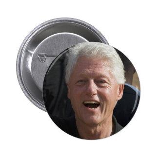 Bill Clinton Pinback Button