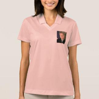 Bill Clinton Camiseta Polo