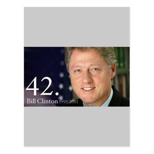 Bill Clinton Postales