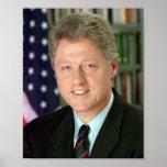 Bill Clinton Poster