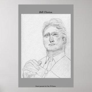 Bill Clinton Póster