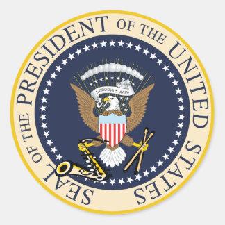 Bill Clinton : President Seal Sticker