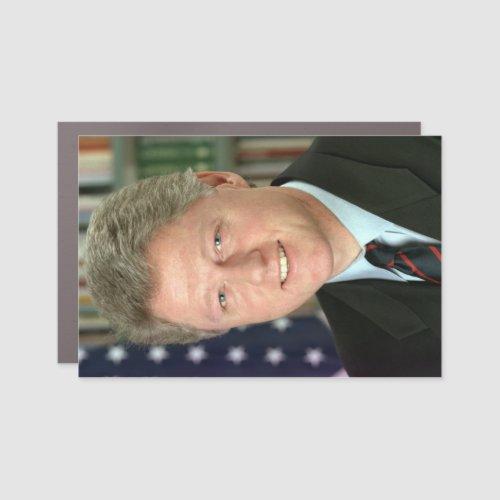 Bill Clinton Presidential White House Portrait Car Car Magnet