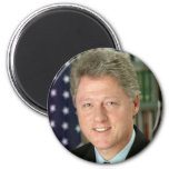 Bill Clinton Refrigerator Magnet