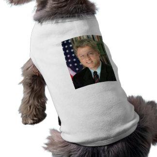 Bill Clinton Camiseta De Perro