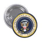 Bill Clinton: Sello presidencial: Botón Pins