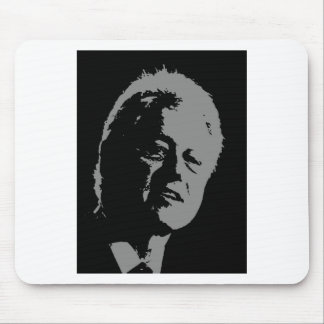Bill Clinton silhouette Mouse Pad