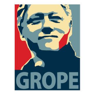 Bill Clinton - tanteo: Postal de OHP