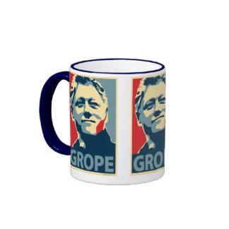 Bill Clinton - tanteo: Taza de OHP