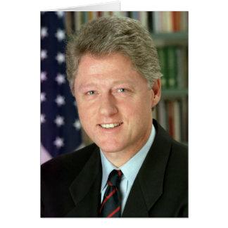 Bill Clinton Tarjeta