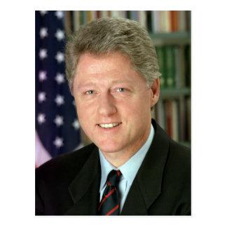 Bill Clinton Tarjeta Postal
