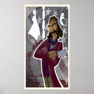 """Bill corte """"del carnicero"""" póster"""