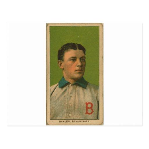 Bill Dahlen, palomas de Boston Tarjetas Postales