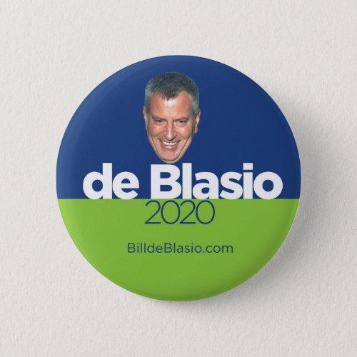 Bill de Blasio for President Button