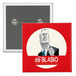 Bill de Blasio NYC Mayor 2013 Pin