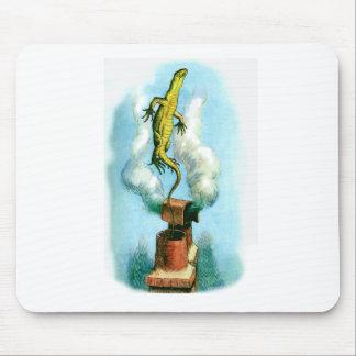 Bill el lagarto mouse pads