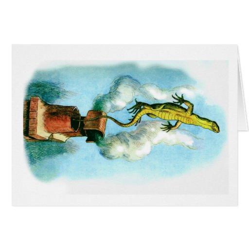 Bill el lagarto tarjeta de felicitación