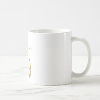 Bill el lagarto taza básica blanca