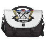 Bill Family Crest Commuter Bags