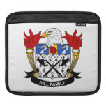 Bill Family Crest Sleeve For iPads