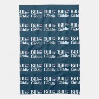 Bill for First Laddie - Anti Hillary Kitchen Towels