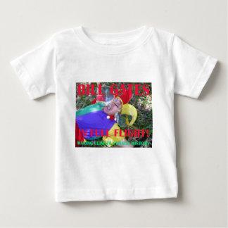 BILL GATES IN FULL FLIGHT BABY T-Shirt