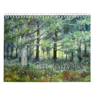 Bill Guffey Wall Calendar 2012