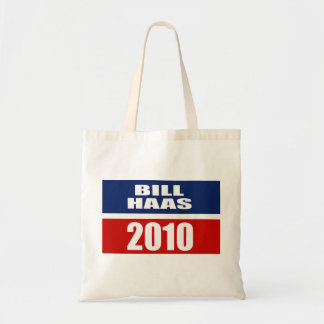 BILL HAAS FOR GOVERNOR TOTE BAGS