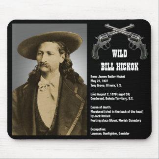 Bill Hickok Mousepad Alfombrilla De Raton