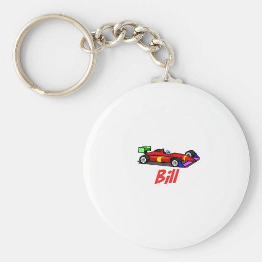 Bill Key Chain