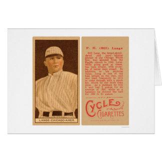 Bill Lange White Sox Baseball 1912 Card