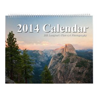 Bill Langton's Fine Art Photography 2014 Calendar