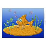 Bill los pescados tarjeta de felicitación