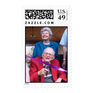 Bill & Mable Porteous Depot Dedication Stamps