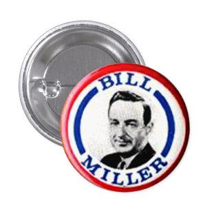 Bill Miller - botón Pins