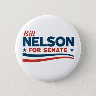 Bill Nelson for Senate Button