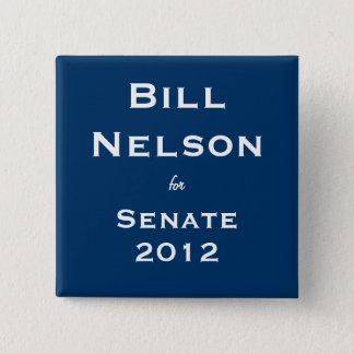 Bill Nelson for Senate Pinback Button