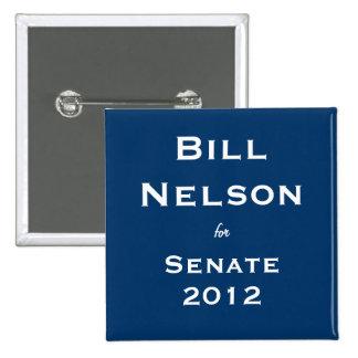 Bill Nelson para el senado Pin
