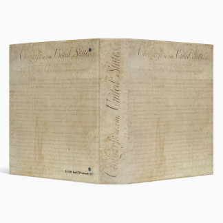 Bill Of Rights Binder