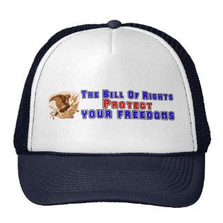 Bill Of Rights Bumper Sticker Mesh Hat