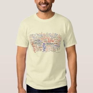 Bill of Rights cloud Tshirts