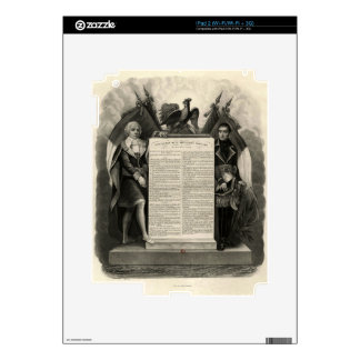 Bill of Rights French Constitution of 1795 Skins For The iPad 2
