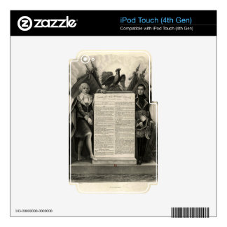 Bill of Rights French Constitution of 1795 Skin For iPod Touch 4G
