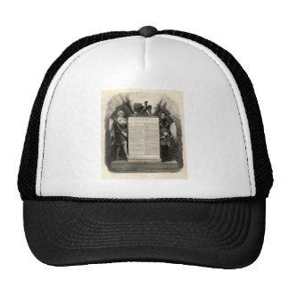 Bill of Rights French Constitution of 1795 Trucker Hat