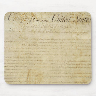 Bill Of Rights Mouse Pad