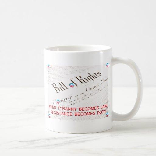Bill Of Rights Mugs